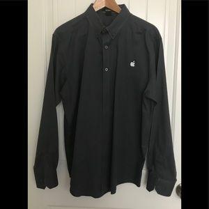 Men's Long Sleeve Official Apple Logo Shirt